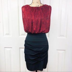 Enfocus Studio Sleeveless Bodycon Evening Dress